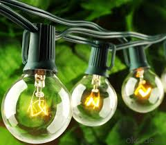 buy outdoor patio g40 globe string lights fancy string lights for