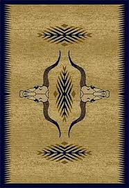 Rustic Lodge Rugs Cowboy Up Rustic Rug Cabin Place