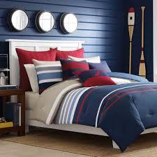100 Cotton Queen Comforter Sets Nautica Bradford Reversible 100 Cotton Comforter 2 Shams Set Full