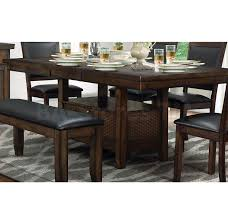 Transitional Dining Room Furniture Dining Tables Wickham Transitional Dining Table With Butterfly