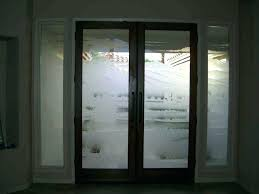 Exterior Doors Glass Front Doors With Frosted Glass Door Design Frosted Glass Front
