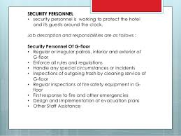 Job Desk Safety Officer Security Officer Duties And Responsibilities Security Training