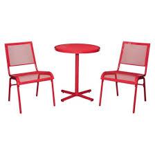 Mesh Patio Table Room Essentials Lasalle 3 Mesh Patio Bistro Furniture Set