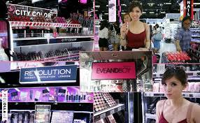 Make Up Di Bangkok eveandboy siam square bangkok thailand makeup shopping with