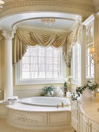 traditional small bathroom ideas how high to hang over window