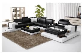 canap panoramique 10 places canapé d angle panoramique en cuir en deux teintes modèle