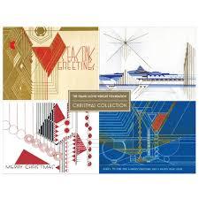 frank lloyd wright christmas card set maclin studio