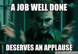 Applause Meme - joke applause