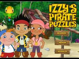disney u0027s jake neverland pirates izzy pirate puzzles