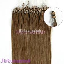 micro bead hair extensions top quality 18 silicone beaded loop micro rings human hair