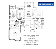 house plans with butlers pantry pendleton creek house plan house plans by garrell associates inc