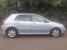 2006 toyota corolla 1 6 petrol manual in saltley west midlands
