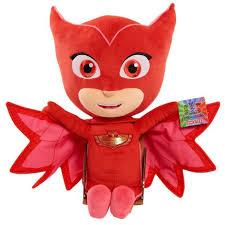 pj masks large plush u2013 owlette play toys kids ages