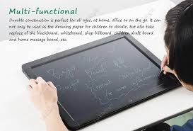 howshow 20inches lcd writing tablet charging sketchpad