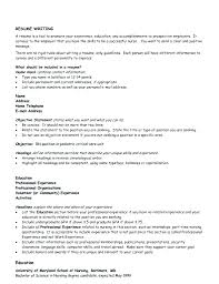 resume header template resume header template
