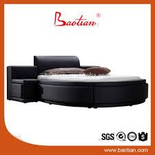 Modern Super King Size Bed Modern Leather Round Bed Buy Round Bed Leather Bed Round Bed On