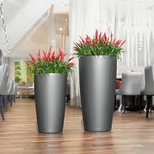 self water planter rondo 40 self watering planter lechuza