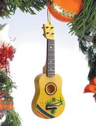 tropical ukulele ornament store