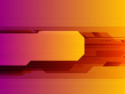 orange abstract technology ppt template ppt backgrounds