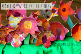 painted fruit box flowers the imagination tree