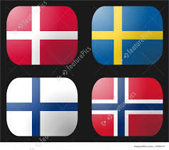 Flag Of Norway Illustration Of Denmark Finland Norway Sweden Flags
