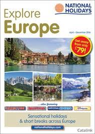 national holidays european coach holidays brochure