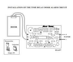 amazon com door alarm time delay 9 12 vdc electronic circuit kit
