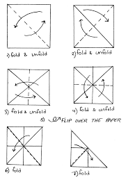 origami pyramid template tutorial origami handmade