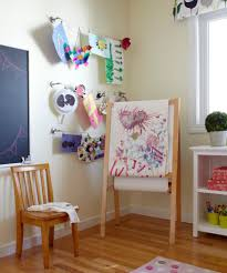 hanging kids artwork ikea curtains technique san francisco transitional kids remodeling