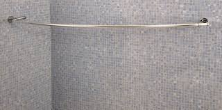 croydex luxury curved shower curtain rod savae org