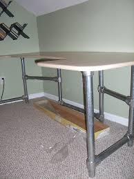 How To Make A Computer Desk How To Build A Custom Ergonomic Computer Desk Simplified Building