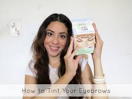 how to tint your eyebrows henna eyebrows lynsire cruelty free