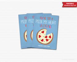 kids valentines day cards you ve got a pizza my heart valentines day cards kids