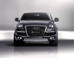 Audi Q7 Models - audi q7 front bumper conversion strator by hofele for model year