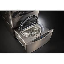 Kenmore Washing Machine Pedestal Kenmore Elite 51973 1 0 Cu Ft Pedestal Washer U2013 Metallic Silver