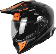 black motocross helmet just1 j34 shape black orange motorcycle motocross helmets