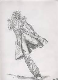 pencil cowboy by hellzhaze on deviantart