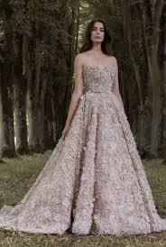 beige wedding dress unique strapless beige floral applique wedding dress paolo