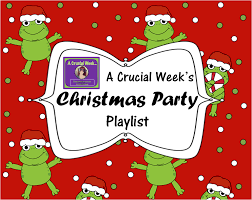 a crucial week christmas party youtube playlist