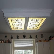 20 kitchen fluorescent ceiling light covers design
