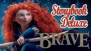 brave movie storybook deluxe disney princesses