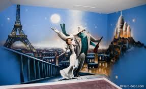 fresque chambre enfant fresque murale un monstre ã dã cor de chambre d enfant bébé