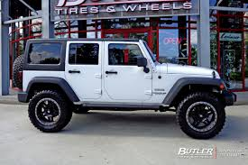 graphite jeep wrangler jeep wrangler with 20in fuel anza wheels exclusively from butler