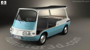 fiat multipla 600 360 view of fiat 600 multipla marinella 1958 3d model hum3d store