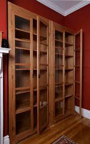 freestanding cherry bookcases vt handmade free standing bookcases
