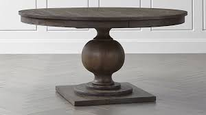 Extendable Dining Tables by Winnetka Light Mahogany Round Extendable Dining Tables Crate And