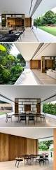 Completely Open Floor Plans by This Singaporean House Completely Opens Up To The Backyard