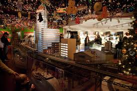 new york transit museum u0027s holiday train show things to do in new