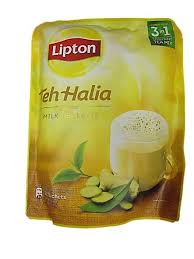 Teh Lipton lipton teh halia milk tea latte 3in1 instant mix 12
