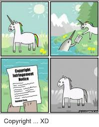 Meme Copyright - copyright infringement notice narwhal corp 1111comicsme copyright xd